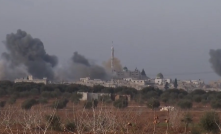 syrian air force bombs tah in idlib governorate